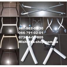 Металлические элементы рамы для детских колясок