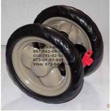 Блок переднего колеса к коляске Geoby D208 (бежевый) (145*7) (28612)