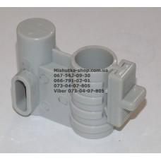 Осевой блок переднего колеса + фиксатор в сборе к коляске Geoby D222, D205, D208, D209 (св. серый-св. серый) (28102)