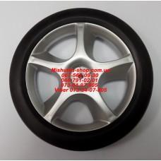 Колесо заднее к коляске Geoby С409/C409M (серое) (28367)