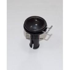 Фиксатор-втулка колеса d=15-36мм, длина ножки 45 мм. (28586)