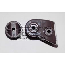 Узел соединения рамы к коляске Geoby D222, D208 (замок рамы) коричневый (28765)