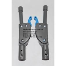 Фиксатор складывания подножки с трубкой к коляске Geoby D208 (голубой) (16мм-190мм) (28775)