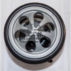 Блок переднего колеса в сборе к коляске Geoby D349 - серые (150*8) (28840)
