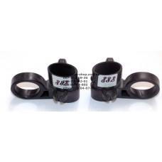Кольца крепления к родительским ручкам комплект (лев.+ прав.) для коляски Geoby D888 (28845)