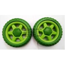 Колесо отдельно к коляске Geoby D222 (зеленый) (130*6mm) (28933)