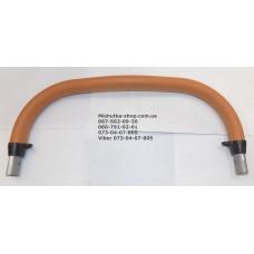 Ручка родительская коричневая эко-кожа (29116)