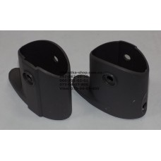 Пластиковый элемент для складывания рамы (под раму 22*42мм) серый (29309)