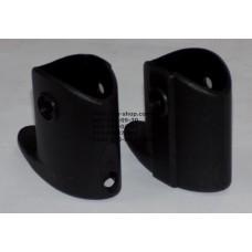 Пластиковый элемент для складывания рамы (под раму 22*42мм) черный (29310)