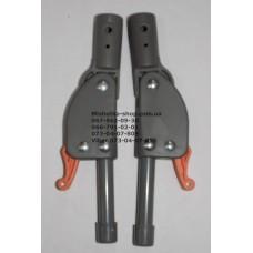 Фиксатор складывания подножки с трубкой к коляске Geoby D208 (оранжевый) (16мм-190мм) (29318)