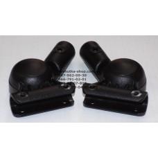 Шарнир 16мм-16мм черный (29333)