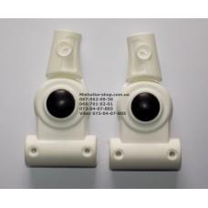 Шарнир 16мм-16мм белый (29505)