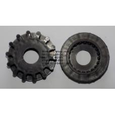 Тормозная шестеренка для коляски (d=35,5-39-61мм, h=19-22мм) (29517)