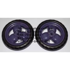 Акция. Колесо отдельно к коляске Geoby D204, D205, D208, D209, D388 (фиолетовый) (145*7) без колпачка (29553)