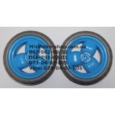 Акция. Колесо отдельно к коляске Geoby D204, D205, D208, D209, D388 (голубой) (145*7) без колпачка (29554)