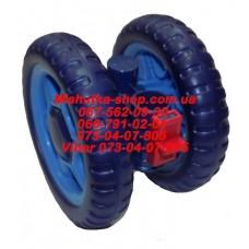 Блок переднего колеса к коляске Geoby D222 (синий) (130*6mm) (29790)