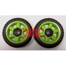 Акция. Колесо отдельно к коляске Geoby D222 (зеленый) (130*6mm) (29791)