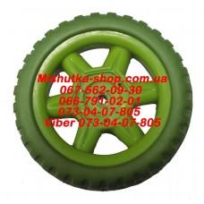 Акция. Колесо к коляске (зеленый) (130*6mm) (29842)