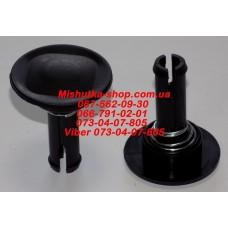Фиксатор-втулка колеса d=мм, длина ножки  мм. (29872)