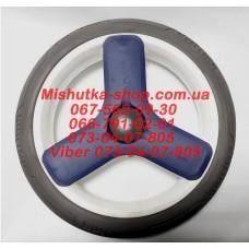 Колесо не надувное (10*300 мм) серая шина (есть 1 штука) (29949)