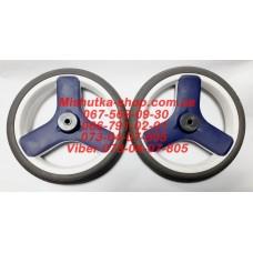Колесо не надувное (8*240 мм) серая шина (есть 2 штуки)(29950)