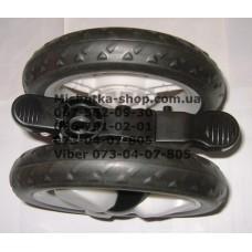 Блок переднего колеса к коляске Geoby С258 - серый (28480)