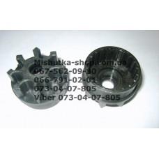 Тормозная шестеренка для коляски (d=44-41мм, h=16-28мм) (16940)