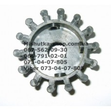 Тормозная шестеренка для коляски (d=63-45мм, h=13-26мм) (есть 1 штука) (16952)