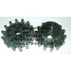 Тормозная шестеренка для коляски (d=63-42мм, h=17-29мм) (есть 1 штука) (16955)