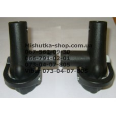 Блок переднего колеса (копыто) (крепление к раме 20*30мм-20мм)  (17052)