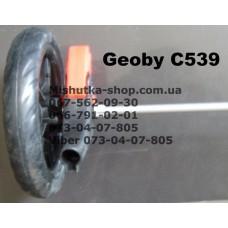 Ось задняя с тормозом и осевыми блоками к коляске Geoby С539 (17312)
