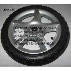 Колесо коляске Geoby C705 (псевдорезина) (290*10) (17314)
