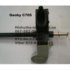 Ось задняя с тормозом к коляске Geoby SC705 - двойня (17315)