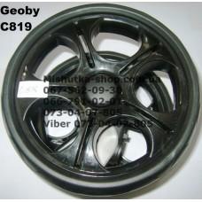 Блок переднего колеса в сборе к коляске Geoby С819 (205*8) (17321)