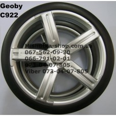 Блок переднего колеса к коляске Geoby C922 - металлик (215*8) (17328)