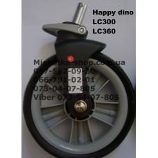 Акция. Колесо переднее к коляске Happy Dino LC300 / LC360 (160*8) (17336)