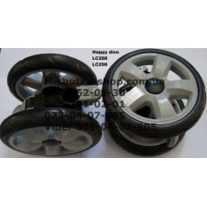 Блок переднего колеса к коляске Happy Dino LC288 / LC298 (160*7) (17338)