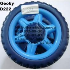 Блок переднего колеса к коляске Geoby D222 (синий) (130*6mm) (17363)
