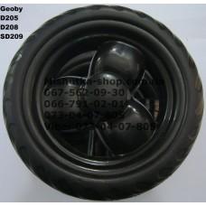 Блок переднего колеса к коляске Geoby D208 (черный-черный) (145*7) (17367-2)
