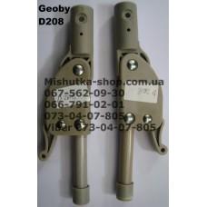 Фиксатор складывания подножки с трубкой к коляске Geoby D208 (серый) (16мм-190мм) (17369)