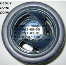 Блок переднего колеса к коляске Geoby D204/D208 (темно-синий) (140*6) (17374)