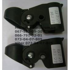 Осевой блок заднего колеса + тормозная педаль к коляске Happy Dino LC288 / LC298 (19*26мм) (28107)