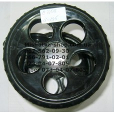 Двойное колесо + фиксатор в сборе к коляске Geoby C808 (135*8) (28191)