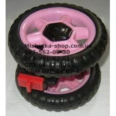 Блок переднего колеса к коляске Geoby D222 (розовый) (130*6mm) (28252)