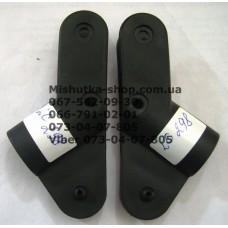 Узлы для рамы, куда вставляются крепления для дуг капюшона комплект (лев. + прав.) коляски Happy Dino LC298 (28393)