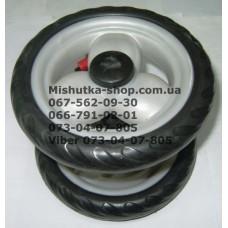Блок переднего колеса к коляске Geoby D208, D205, D209, D388 (белый) (145*7) (28400)