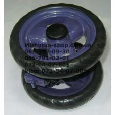 Блок переднего колеса к коляске Geoby D208, D204, D205, D209, D388 (фиолетовый) (145*7) (28402)