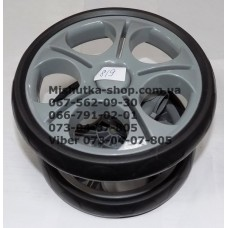 Блок переднего колеса в сборе к коляске Geoby С819, С922 (205*8) серый (28432)